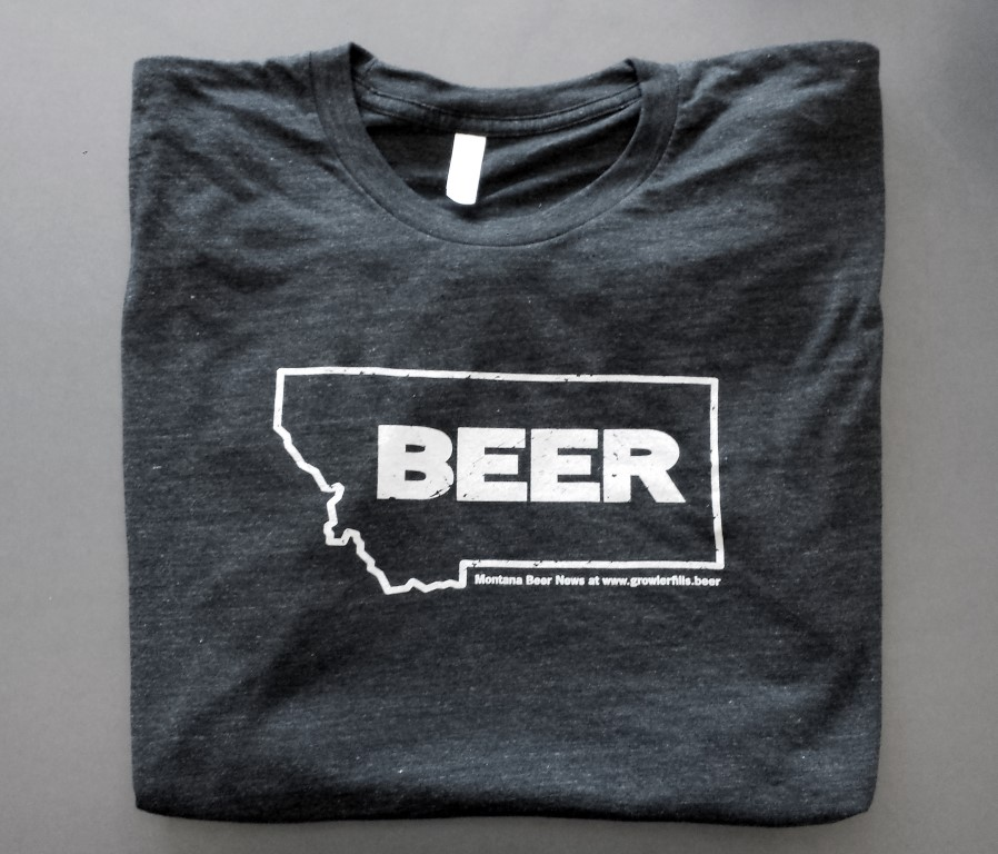 Montana Beer T-shirt in Black