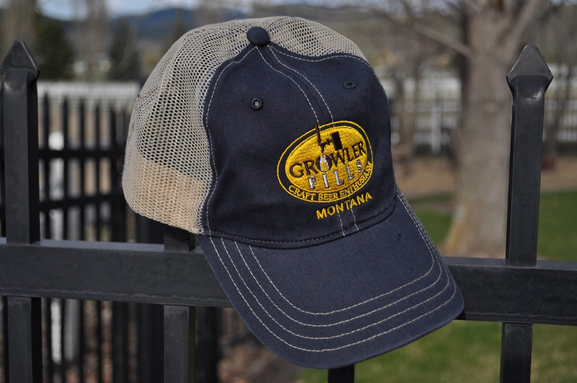 "Growler Fills ""Old Favorite""  Hat in Blue"