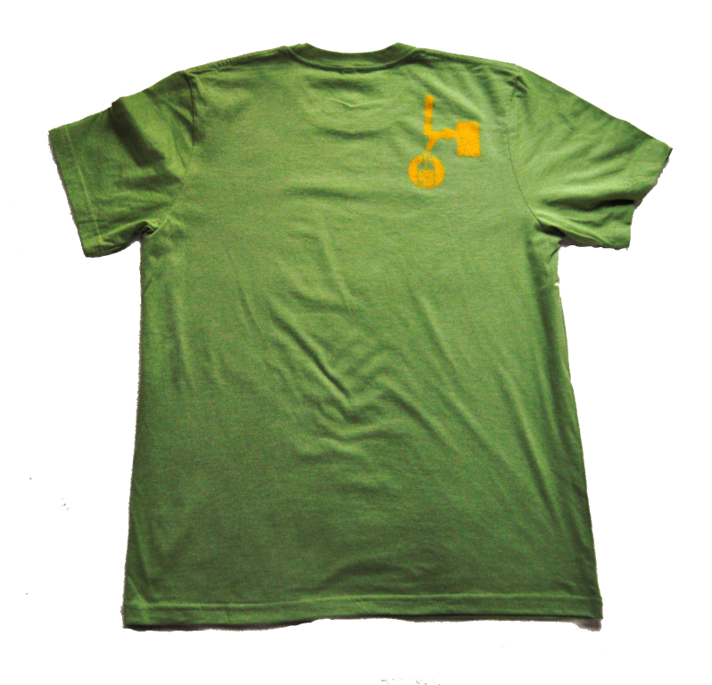 Growler Fills Logo T-shirt in Green