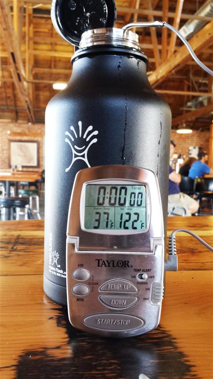 Product Review: Hydro Flask Stainless Steel Insulated Growler