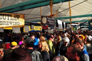 Great Crowd at the Montana Brewers Fall Festival