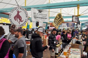 Variety at the 2014 Montana Brewers Fall Festival