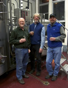 Brad, Greg and Brian. Photo Credit: Blackfoot River Brewing Co.