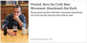 Is Sam Adams Getting Left Behind?