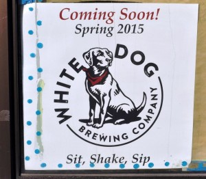 White Dog Coming Soon